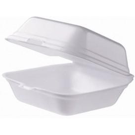 Boîte à HAMBURGER Petit FOAM Blanc (500 Unités)