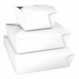 Boîte Carton Américaine Blanc 113x90x64mm 600ml (450 Utés)