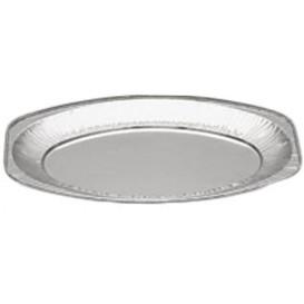 Plat Oval Aluminium 870ml (10 Unités)