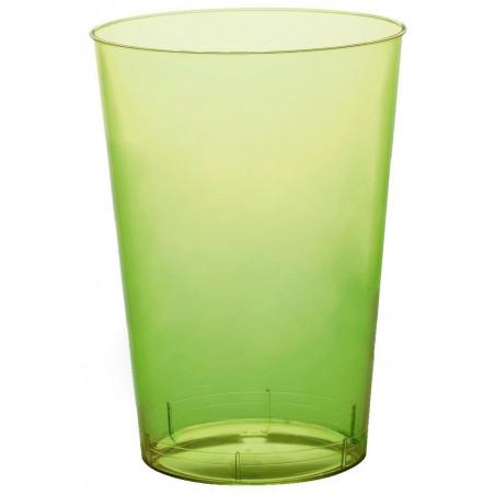 Verre Plastique Vert Lime Transp PS 200ml (50 Unités)