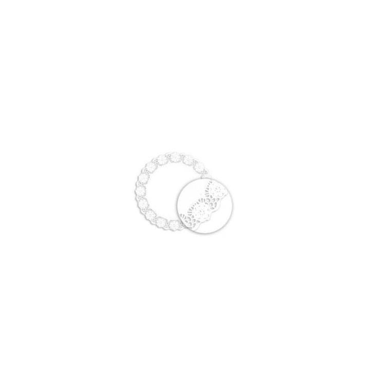 Dentelle en papier blanc 340mm (250 Unités)