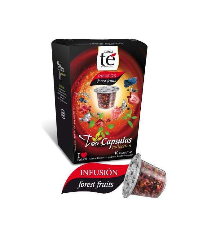 Capsules Nespresso* Compatible Fruits Rouges (10 unités)