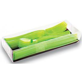 Couverts Fourchette, Couteau, Cuillère Vert (360 Utés)
