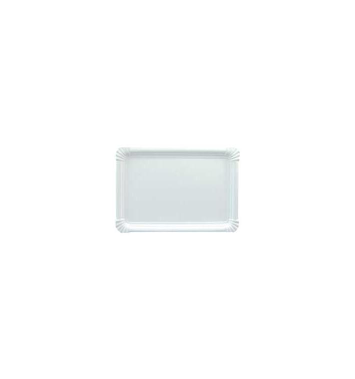 Plat rectangulaire en Carton 34x42cm (100 Unités)