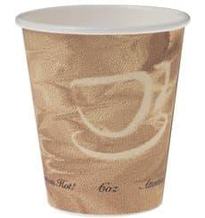 "Gobelet Carton 6oz/180ml Café ""Mistique"" Ø7,0cm (50 Utés)"