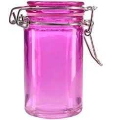Bocal en Verre Hermétique en Lilas 70 ml (32 Utés)