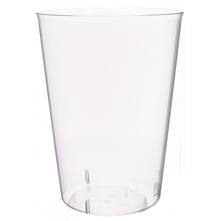 Verre Plastique 600ml PS cristal Transparent (500 Utés)