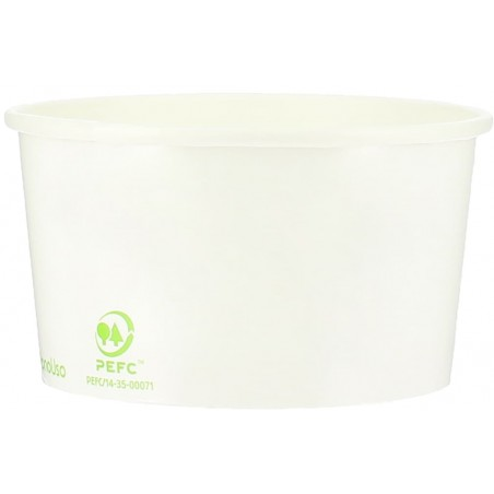 Pot à glace en Carton Ecologique 140ml (60 Utés)