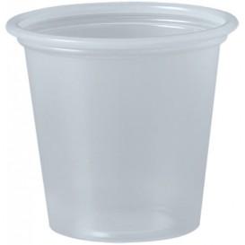 Pot à Sauce Plastique PP Trans. 35ml Ø4,8cm (250 Utés)