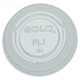 Couvercle Transp. pour pot 30ml Ø48mm (100 Utés)