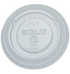 Couvercle Transp. pour pot 60ml Ø66mm (100 Utés)