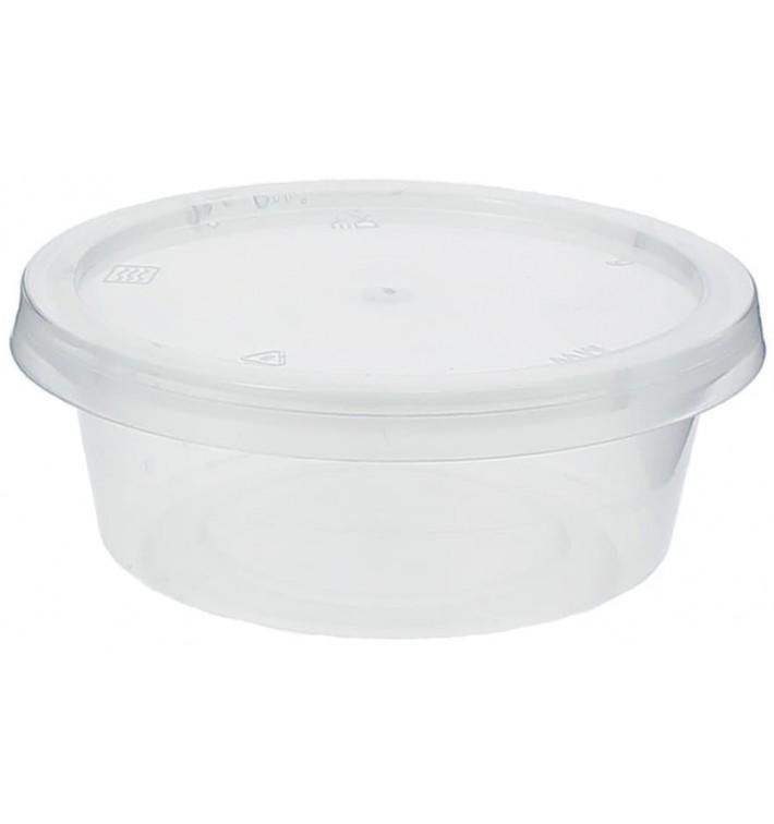 Pot à Sauce Plastique PP avec Couvercle 85ml (100 Utés)