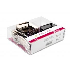 Kit pour Dégustation Plastique PS de 54 pièces (18 Kits)