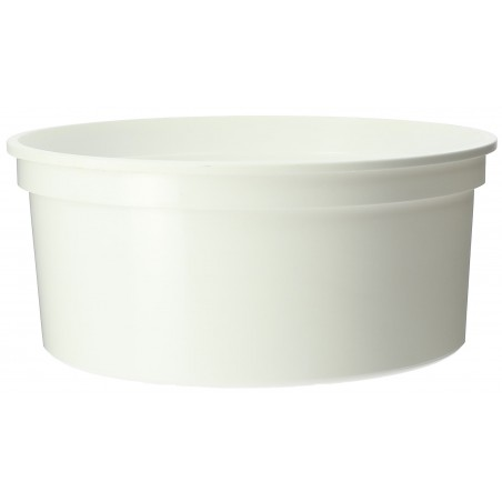 Pot blanc de 350ml (Paquet de 25 Utés)