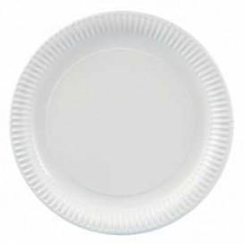 Assiette Carton Ronde 180 mm (100 Unités)