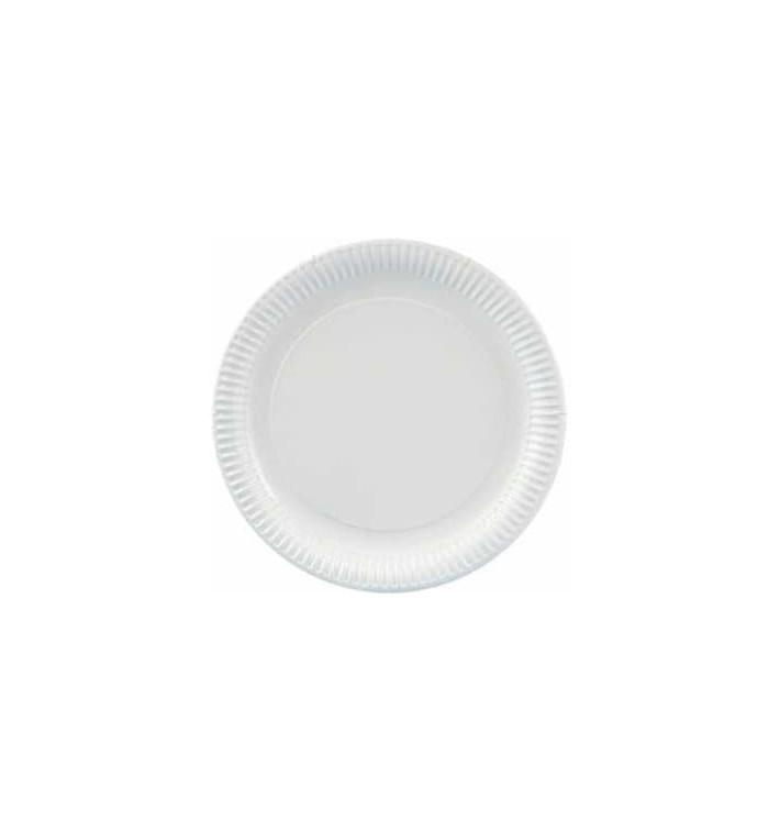 Assiette ronde en Carton 230mm (100 Unités)