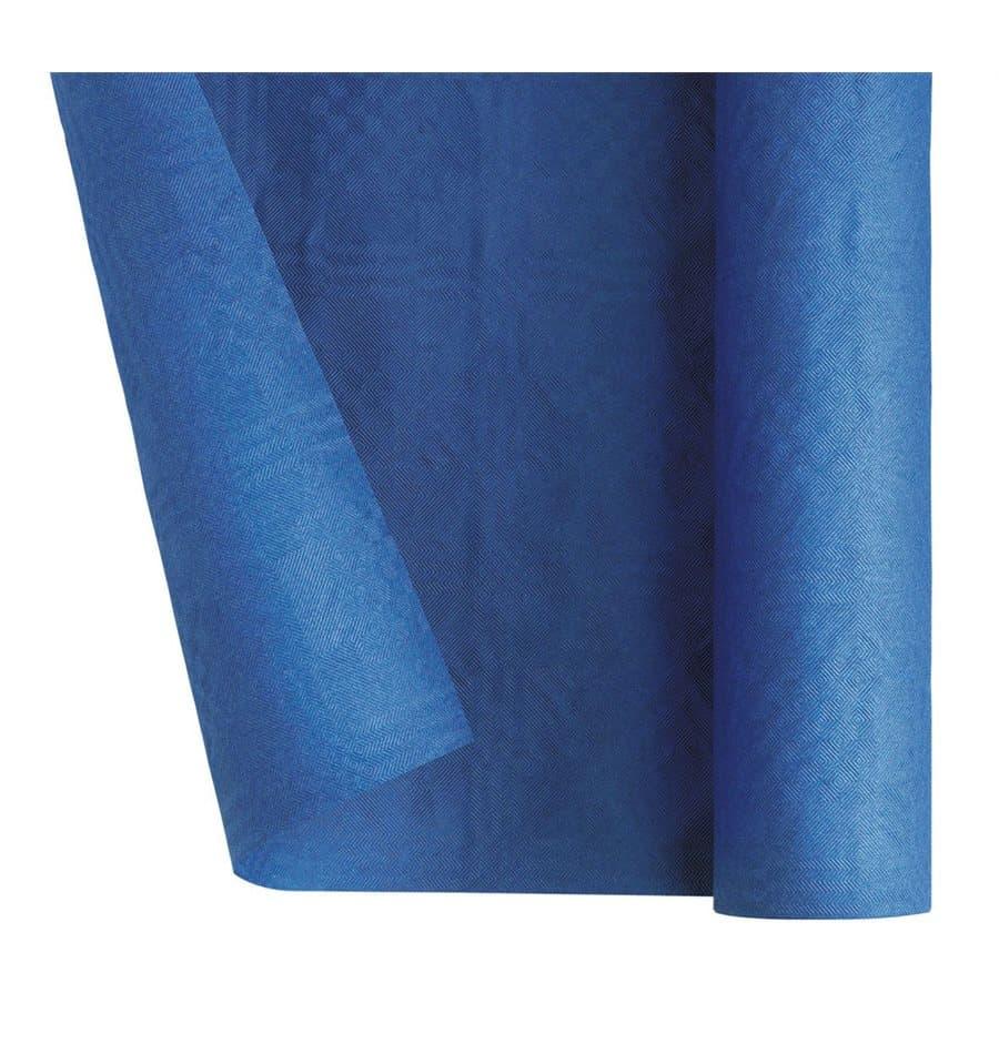 Nappe en papier en rouleau bleu fonc 1 2x7m 25 ut s - Nappe bleu fonce ...