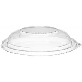 Couvercle Haut Plastique PET pour Bol Transp. Ø150mm (63 Utés)