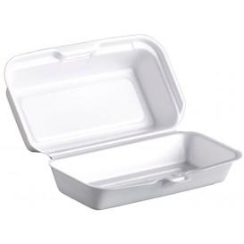 Boîte FOAM HOTDOG Blanc 180x100x60mm (500 Unités)