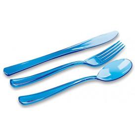 Couverts Fourchette, Couteau, Cuillère Turquoise (18 Utés)