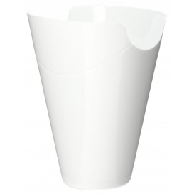 "Boîte Dégustation ""Click-Clack"" PP Blanc 180ml (10 Utés)"