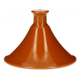 """Couvercle Plastique PP Assiette """"Tajine"""" Ø7x5,5cm (300 Utés)"""