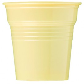 Gobelet Plastique PS Crème 80ml Ø5,7cm (1500 Utés)