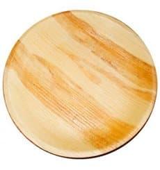 Assiette en Feuilles de Palmier Ø12,5x2cm (25 Utés)