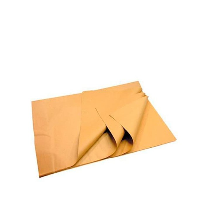 Papier Mousseline Marron de 30x43cm 22g (9600 Utés)