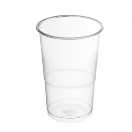 Vaso de Plastico PP Transparente 200 ml  (Paquete 100 unidades)
