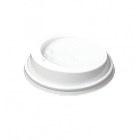 Couvercle Perforé pour gobelet Carton 4oz/120ml (Paquet de 100 Utés)