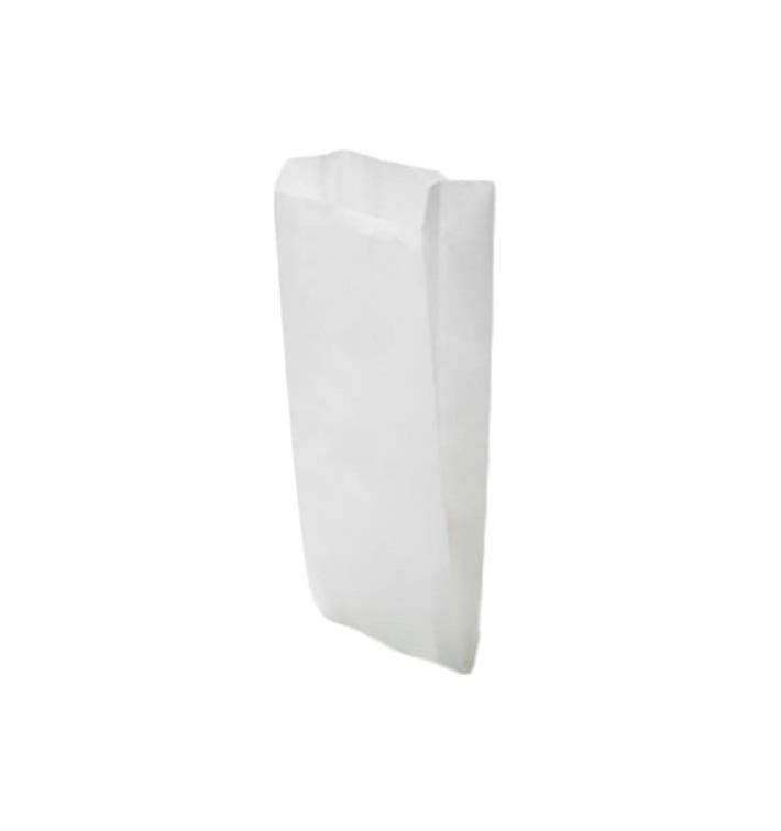Sac Papier Blanc 18+7x32cm (250 Unités)