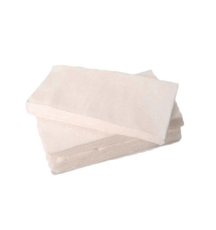 Serviette Papier Molletonnée 1/8 40X40 Blanc(1.200 Utés)