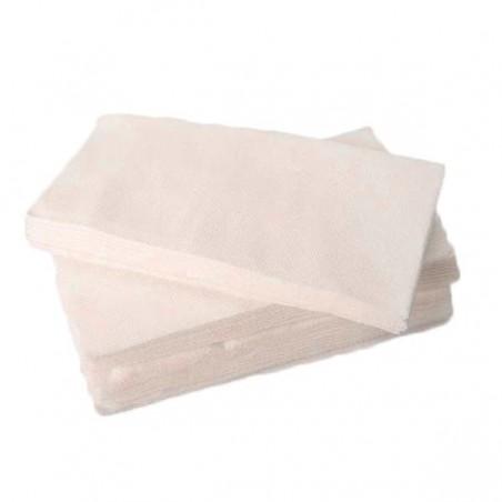 Serviette en papier 1/8 40X40 BLANC (Paquet 50 Utés)