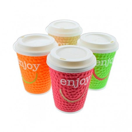 "Gobelet Carton ""Enjoy"" 9oz/267ml (875 Utés)"