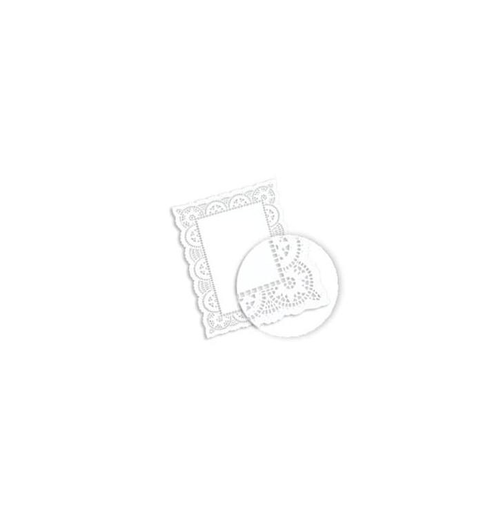 Dentelle Rectangle en papier 20x30cm (2000 unités)