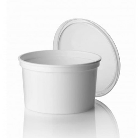 Pot blanc de 500ml (1.000 Utés)