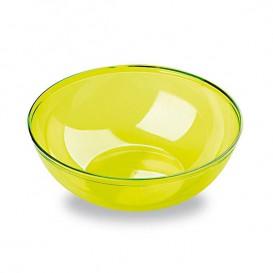 Bol Plastique Vert 400ml Ø 14 cm (60 Unités)
