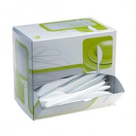 Couteau Plastique Blanc 175mm en Distributeur (1.500 Unités)