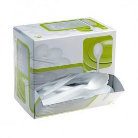 Cuillère Plastique Blanc 175mm en Distributeur (1.500 Unités)