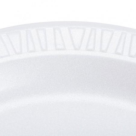Assiette plate en Foam 230mm (500 Utés)