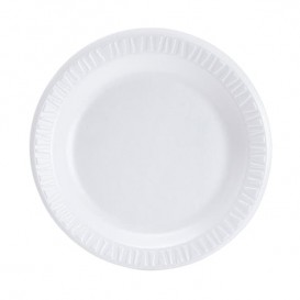 Assiette plate en Foam 260mm (500 Unités)