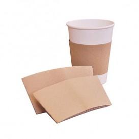 Bague pour Gobelet en Carton Ondulé Ø7 x h6 cm (2.000 Unités)