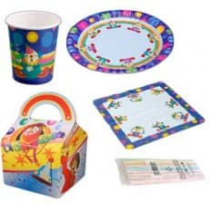 Pack Fiesta Infantil (diseño Payasos)