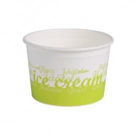 "Pot à glace en carton  6oz/175 ml ""Ocean"" (50 Utés)"