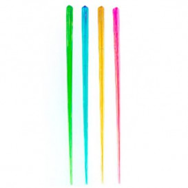 Agitateur à Boisson Plastique Fluorescent 175mm (100 Unités)
