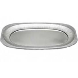 Plat Oval Aluminium 2150ml (10 Unités)