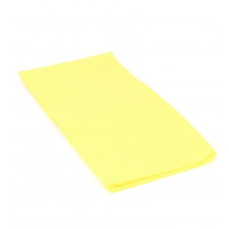 Serviette en papier 1/8 40X40 Jaune (50 Unités)