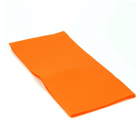 Serviette en papier 1/8 40X40 ORANGE (1.200 Unités)
