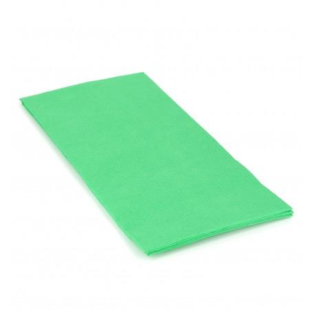 Serviette en papier 1/8 40X40 VERT POMME (1.200 Unités)